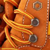 Zapatos de seguridad de acero de cuero antiestáticos del funcionamiento de ingeniería del trabajo del dedo del pie de Nubuck del resbalón anti