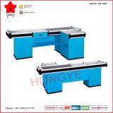 Épicerie/commerce de détail Checkout Counter avec Conveyor Belt (OW-C003)