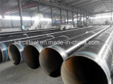линия сваренная покрытием трубопровода 3lpe эпоксидной смолы труба