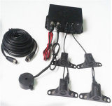 Carro Parking Sensor System para Truck com 3-5 Meter Long Range Buzzer Alarm e 7 Inch Monitor