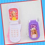 キャンデーが付いている音楽的な赤ん坊の携帯電話のおもちゃ