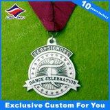 مستديرة معدن وسام عادة مكافأة وسام رياضة تحدي وسام مع إيبوكسي