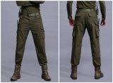 3 calças táticas das forças armadas dos Multi-Bolsos do combate da Rápido-Secagem das calças das cores