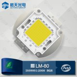 높은 Output Light Efficacy High Quality White High Power 100W COB LED