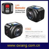 Камера действия спорта Vr WiFi 360 градусов камера спорта 220 градусов широкоформатная