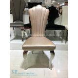 椅子(HW-YH31C)を食事するポストの現代様式のステンレス鋼