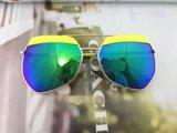 O frame circular, estilo bonito, elegante caçoa os óculos de sol da segurança (MK01004B)