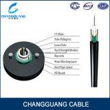 Precio de fibra óptica del cable de la fibra del uso del conducto de fuente de la fábrica de la alta calidad del cable óptico GYXTW de la base al aire libre del solo modo 2-12