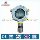 24V DC 전원 공급 4-20mA 산출 0-200ppm Cl2 염소 가스탐지기