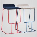 Sofa Seat를 가진 유일한 Design Fabric Metal Bar Chair