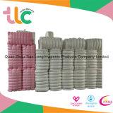 Tissus non-tissés de Spunlace d'air chaud des plus nouveaux produits pour la couche-culotte Topsheet de bébé