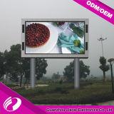 Ecrã ao ar livre do diodo emissor de luz de P8 RGB com 256*128mm