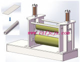 Rolling Machine van de Plaat van twee de RubberRollen voor het Kleine Lange Tubulaire Staal van de Diameter