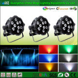 Luz impermeable de la colada de la IGUALDAD de la mayor nivel 100%Quality 9PCS Rgbway LED