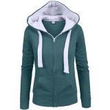 方法Womemの冬のHoodieの暖かいジャケットのスエットシャツのコートHoodies