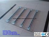 Decking personalizado do engranzamento de fio de aço para o racking da pálete do armazém