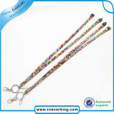Rhinestone Lanyard Neck Lanyard mit Metal Fittings