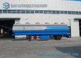 Transporte 48000L Q345 Mild Steel Oil Tank Trailer 3 Axle