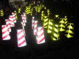 """cone brilhantemente colorido do tráfego 28 """" 7lb com o colar reflexivo de 41cm"""
