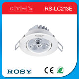 Indicatore luminoso di soffitto dell'interno dell'indicatore luminoso LED di alto potere con 3W