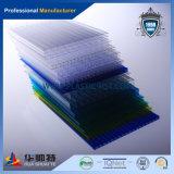 Славный превосходный пластичный тисненый лист PC (голубой)