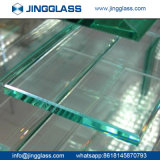 Vidro temperado liso do vidro de flutuador da segurança de construção do edifício