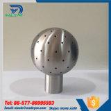 Acero inoxidable 304 316 Higiénico Sanitaria Cip tanque de pulverización de la bola