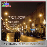 Indicatore luminoso esterno della decorazione degli orizzonti di festa della decorazione LED di natale della via