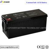 batterie d'accumulateurs 12V100ah pour des systèmes de sauvegarde avec la durée de vie 12years