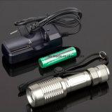 LED-Birnen-Polizei-Taschenlampe mit Cer, RoHS, MSDS, ISO, SGS