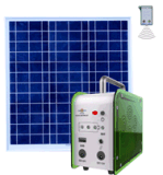 Power solare Kit Portable Solar System per Light e Fan