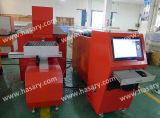 Coupeur de laser en métal d'emplacement de travail à échelle réduite