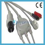 Cable de Goldway /Mindrays ECG con los Leadwires