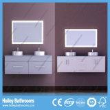 LED 접촉 스위치 더 많은 것을 저장하는 높은 광택 페인트 두 배 물동이 내각 공간 (BF123D)