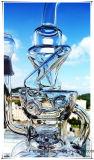 Recycler Hb-K51 Inline-Perc unregelmäßige Brunnen-Form-rauchendes Wasser-Glasrohr