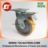 Macchina per colata continua della parte girevole con la rotella dell'unità di elaborazione del freno con alluminio Center6*2