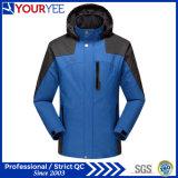 Roupa ao ar livre do Outerwear disponível do revestimento do inverno do revestimento de esqui (YLCF110)
