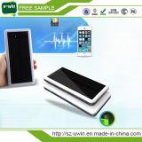 Carregador Solar impermeável 8000mAh Dual USB Portable Solar Power Bank