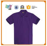Usura viola di compressione dei vestiti di compressione della maglietta di alta qualità