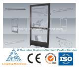 Janelas de vidro deslizantes de alumínio e portas