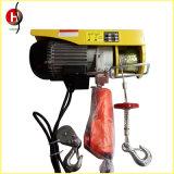 Mini equipo de elevación eléctrico del alzamiento de cuerda de alambre