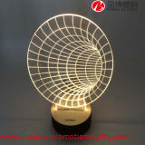 Ясное Horn Shape 3D Visualization Glow СИД Light
