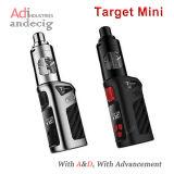 MOD nero/d'argento del MOD di vendita più caldo Vaporesso dell'obiettivo del mini TC kit del dispositivo d'avviamento della casella