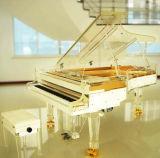 Beau piano à queue en cristal fait sur commande de Chloris