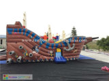 Saleのための3D Inflatable Playground Pirate Ship