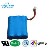 pacchetto ricaricabile della batteria di ione di litio di 1s3p 6000mAh per attrezzature mediche