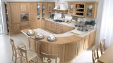 2016軒の家の純木の食器棚デザイン