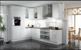 Kundenspezifischer hoher glatter Küche-Schrank