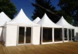 [أوبل] خارجيّة [4إكس4م] أبيض عرس [بغدا] خيمة مع ستر & بطانات
