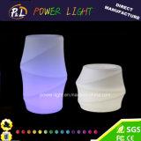 Iluminación decorativa florero plástico LED del florero